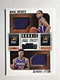 2018-19 Panini Contenders Rookie Ticket Dual Swatches Basketball Deandre Ayton/Mikal Bridges Jersey/Relic Phoenix Suns Official NBA Card From Panini. rookie card picture