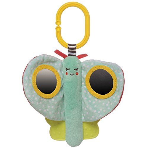 Manhattan Toy Cactus Garden Meadow Bpa-Free Baby Toy with Baby Mirrors