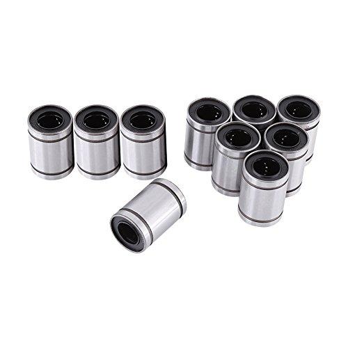 10 Stücke 12 * 20 * 30 LM12UU Lager 12mm Linearbewegung Kugellager CNC Gleitbuchse für 12mm Stange, 3D Drucker CNC Teile