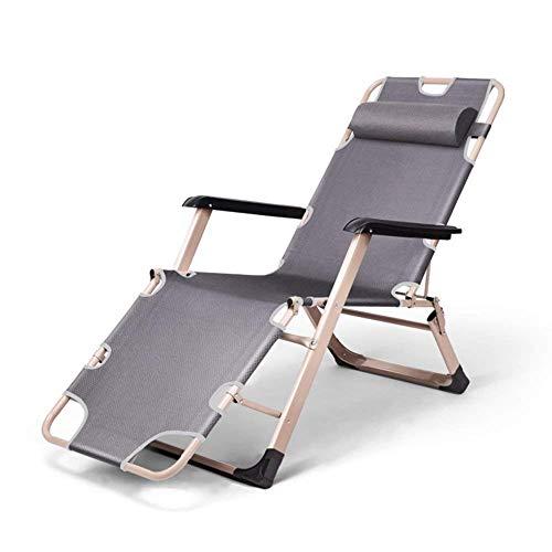 YLCJ gemakkelijk te bereiken bed | opklapbare stoel luie stoel chaise longue | opvouwbaar eenpersoonsbed voor bureaustoel bed kussen gewicht 200 kg A ++ (kleur: B) A