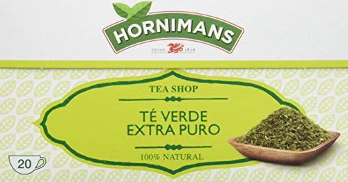Hornimans Te Verde - Teverde Bolsitas De Te Puro Tea Shop, 20 x 1,5 g - [Pack de 12]