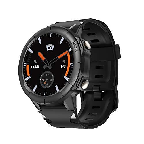Vigorun Reloj Inteligente Hombre, Pantalla Táctil Smartwatch Pulsera Actividad con Podómetro 50M Impermeable Deportivo Reloj Fitness Monitor de Sueño para Huawei Samsung