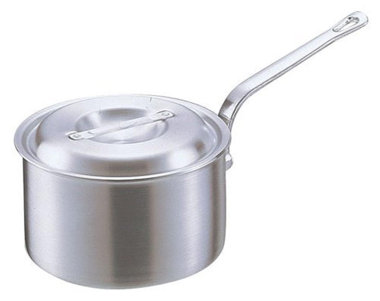 かなりの縫うウルルアカオアルミ DON片手深型鍋 21㎝ アルミニウム合金、ハンドル(アルミダイキャスト) 日本 AKT19021