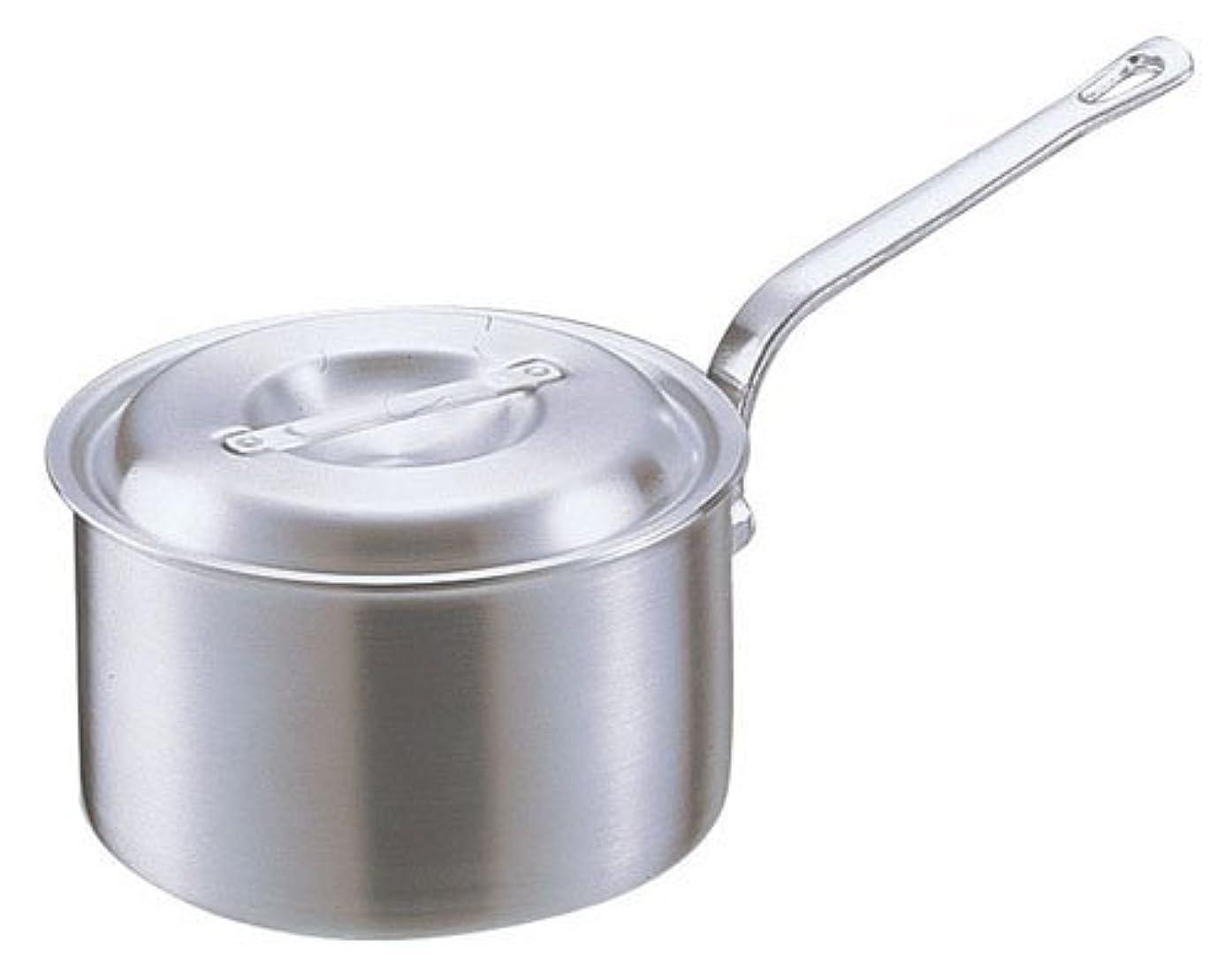電気オーバードローおなじみのアカオアルミ DON片手深型鍋 15㎝ アルミニウム合金、ハンドル(アルミダイキャスト) 日本 AKT19015
