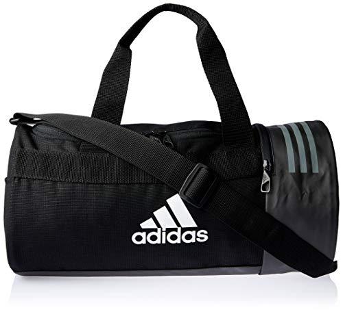 Adidas 3s Cvrt Duf Xs Borsone, 45 cm, 25 liters, Nero (Negro/blanco/blanco)
