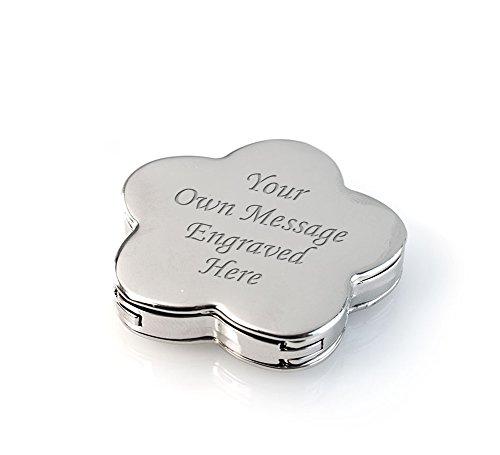 Engrave It Online - Gancho para bolsos Mujer Hombre plateado plata S