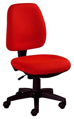 Studio Decor Sof07 Silla de Oficina tapizada en Tela, Rojo, 52x55x92 cm