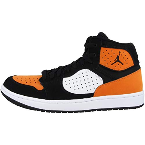 Nike Jordan Access, Zapatillas de Baloncesto Hombre, Multicolor Black White Starfish 008, 43 EU