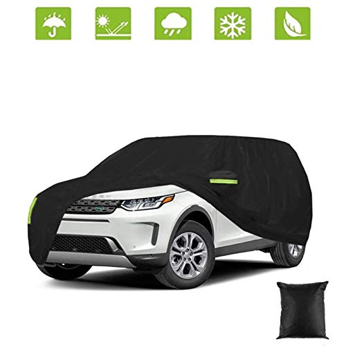 SUV car Cover Waterproof Car Cover All Weather Snowproof UV Protection Windproof Outdoor Full car Cover Scratch Resistant with Reflective Strips( SUV )