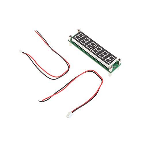 XIGAWAY Medidor digital de ciclografía con 6 dígitos de 0,1 MHz-65 MHz LED rojo