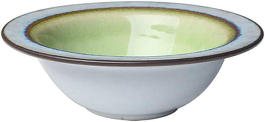 Milwaukee Mall Straw Hat Bowl Nordic Retro Pasta Ice Translated Ceramic Western Crack