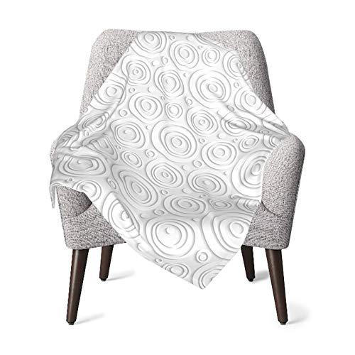 Baby Double Blanket Baby Quilt Geometric Circle Decor Simplistic Rotary Interior Lines Vortex Stripes Minimal Origami Design Gray Baby Blanket,Baby Comfort Blanket
