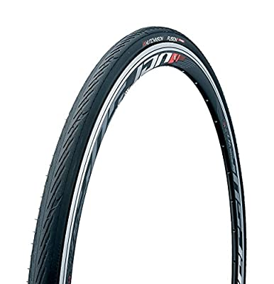 Hutchinson New 2018 Fusion 5 All-Season Tubeless and Tubeless Ready Bike Tire with The New ElevenSTORM Compound (700 x 25 Tubeless Ready), Black