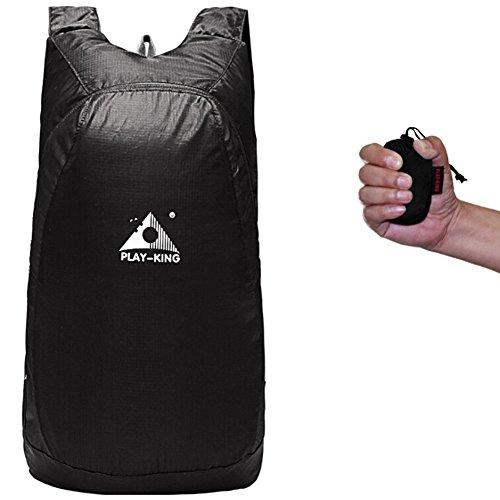 Favourall sac à dos nomad militaire anti theft laptop portable antivol ordinateur waterproof randonnée hiking backpack 20L-Noir