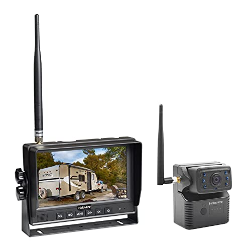Haloview Handy 7 Wireless Backup Rear View Hitch Camera and Monitor System for RV/Trailer/Pickup