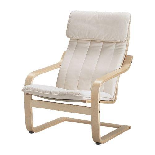 IKEA POANG アームチェア バーチ材突き板 アルメナチュラル 89864546
