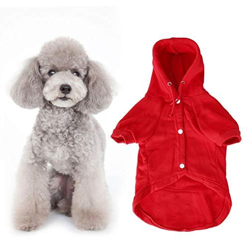 Gedourain Ropa de Chaqueta para Cachorros, Ropa para Perros, para Perros, Gatos en la estación fría para Mantener el Calor(L)
