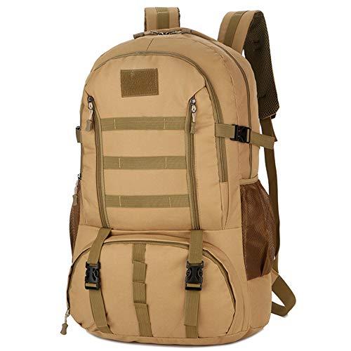 TnXan 60L Molle Camo Tactical Backpack Travel Backpack Trekking Rucksacks Military Army Waterproof Hiking Camping Backpack Tourist Rucksack Outdoor Sport Climbing Bag