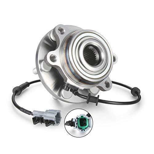 Madlife Garage 40202-EA300 - Cubo de rodamiento de rueda delantera con sensor ABS para Navara D40 2.5 3.0