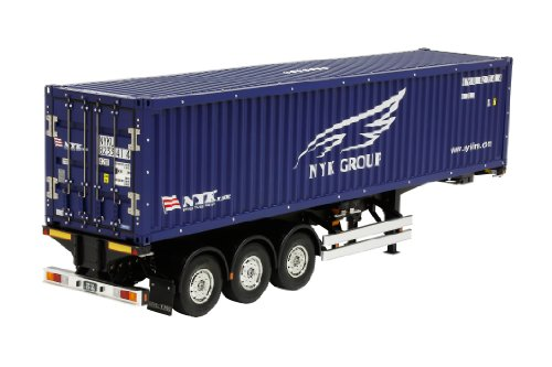 TAMIYA NYK 300056330 1:14 RC Container Trailer Blue 40 ft