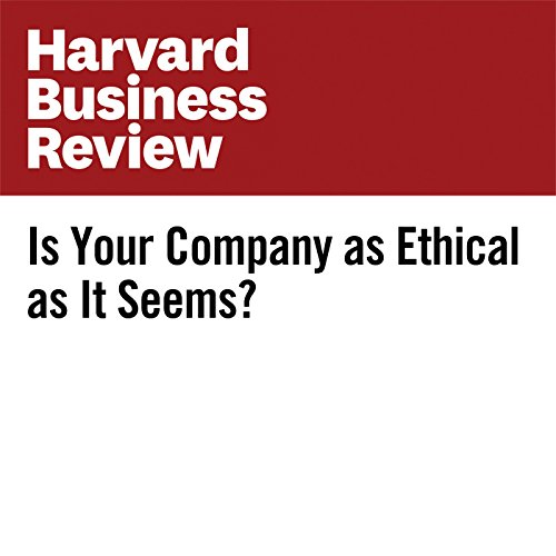 Is Your Company as Ethical as It Seems? copertina