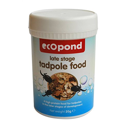 Ecopond Futter für Kaulquappen,20g–AHLS20