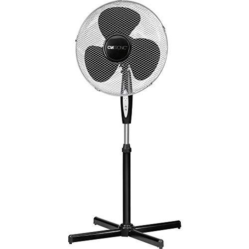 Clatronic Ventilador de pie, Negro, 125 (263927)