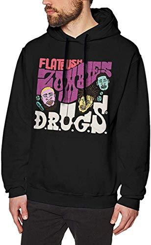 Ljkhas2329 LilianR Flatbush Zombies Mens Hoodies Hooded Sweatshirt Black M