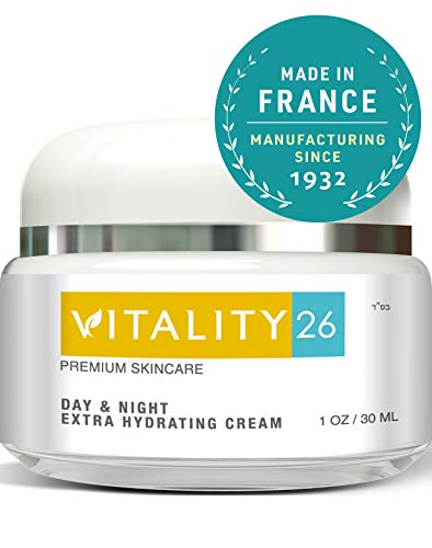 Vitality26 Anti Age Cream for Face - Treat Wrinkles, Fine Lines & Crows Feet | An Instant Wrinkle Remover For Face made with Shea Butter, Avocado Oil, Wild Yam & Vitamin E - Natural Firming Face Cream