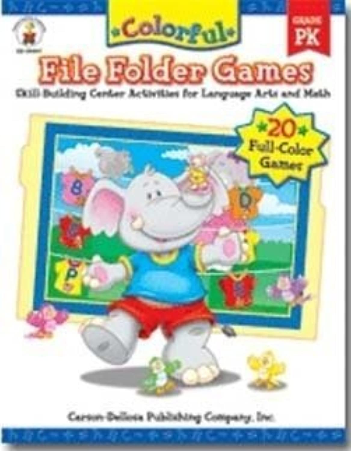 Farbeful File Folder Games Gr-pk by EDR