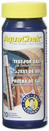 AquaChek 561140A Salt Water Swimming Pool Test Strips - White, 1-Pack