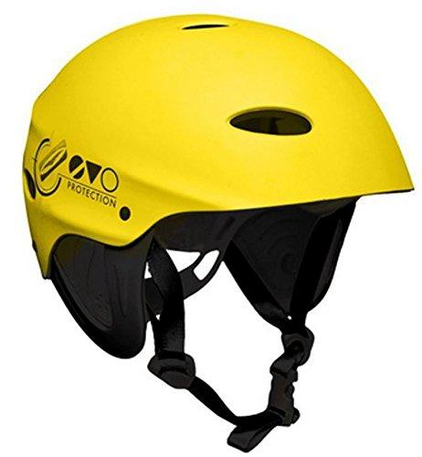 GUL EVO Watersports Casco para Deportes acuáticos para Kayak Kitesurf Windsurf y Bote - Amarillo - Unisex - Ligero