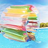 Kurala Inflatable Water Wheel, 47 Inches...