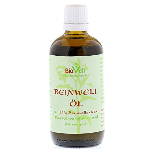 BioWell Beinwellöl Körperpflege- und Massageöl, 100 ml Öl