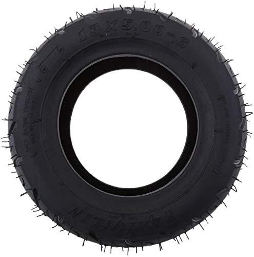 aipipl Neumáticos de Goma de 13 x 5 a 6 Pulgadas para Motocicleta, para Bicicleta, para Scooter, para Bicicletas Plegables, para Scooter, Quad Dirt Bike, neumático, llanta sin cámara, fácil de inst