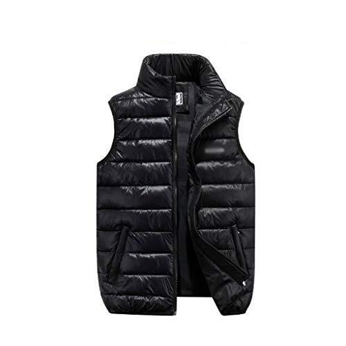Chaleco acolchado a prueba de viento para mujer Cálido chaleco y de caliente suelta chalecos de abrigo por la chaqueta sin mangas del chaleco del invierno de los hombres de las mujeres Chaleco Qulited
