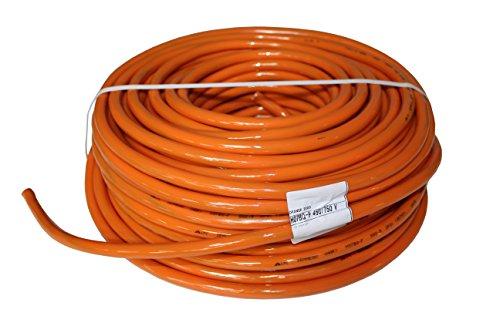 PUR-Leitung H07BQ-F 5x1,5 bis 5x2,5 (5G1,5-5G2,5) Baustellenkabel, Industriekabel geeignet für den Außenbereich 5-50m (5G1,5; 15m)