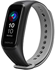 OnePlus Band with 1.1'' AMOLED Display, Dual-Color Band Design, Sleep Monitoring of Blood Oxygen Saturation (SpO2), 5ATM + IP68 Water and Dust Resistant (Android Compatible)