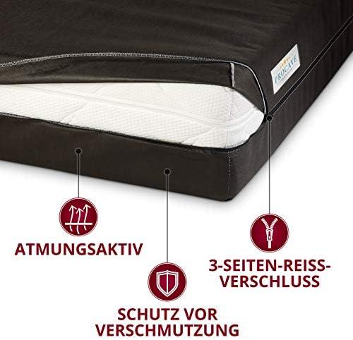PROCAVE Funda de colchón Transpirable y con Cremallera, Cubierta o Bolsa de colchón para el Cuidado y el Almacenamiento