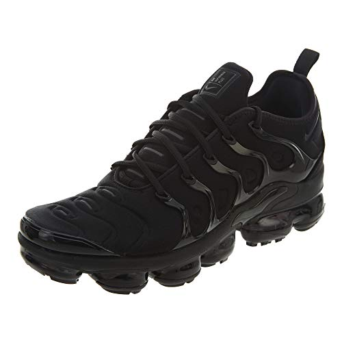 Nike Air Vapormax Plus, Scarpe Sportive Unisex-Adulto, Nero (Black/Dark Grey/Black 004), 45 EU
