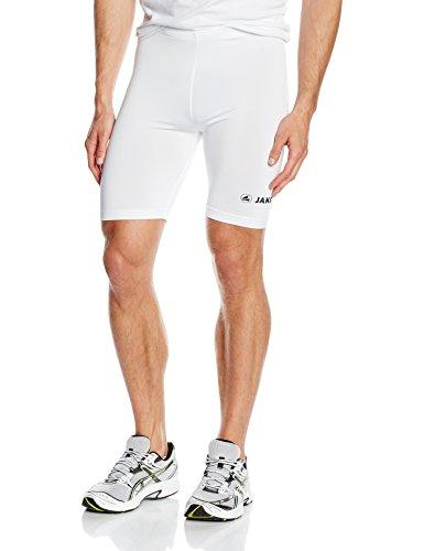 Jako Basic 2.0 Pantaloncini, Unisex, Bianco, M