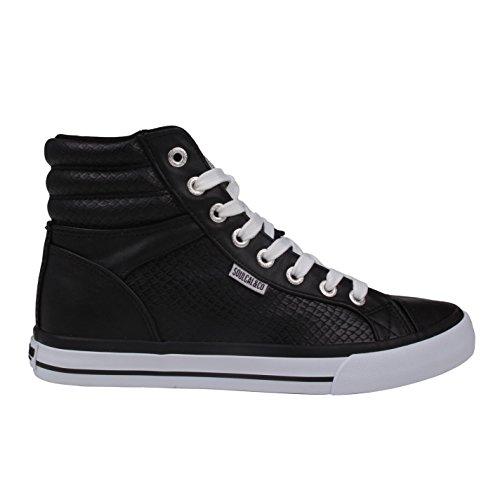 SoulCal Mujer Asti Hi Tops Zapatillas Calzado Casual Zapatos Con Cordones