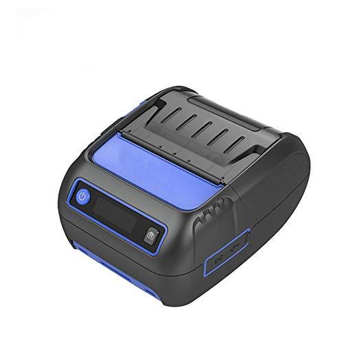 imprimante Portable Imprimante Thermique de réception d étiquettes Mini imprimante Mobile Bluetooth Label POS Android iOS