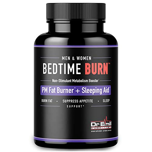 Dr. Emil - PM Fat Burner, Sleep Aid and Night Time Appetite Suppressant - Stimulant-Free Weight Loss...