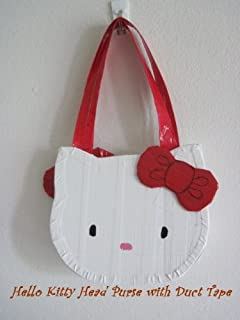 Hello Kitty Head Purse with Duct Tape (English Edition)