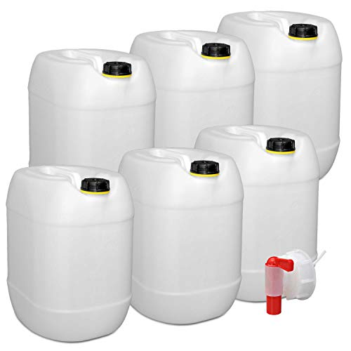 plasteo -   6er Set: 30 Liter