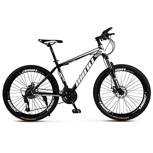 Mountain Bike 26 Inch Wheels 21/24/27 Speed Double Disc Brake Adult Mountain Cross-Country Bike Full Suspension Mountain Bike