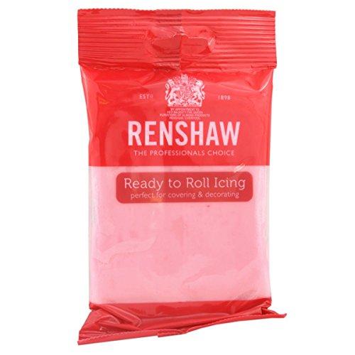 Renshaw Ready To Roll Icing Fondant Cake Regalice Sugarpaste 250g PINK