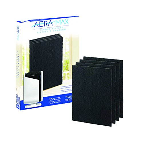 Fellowes Carbon Filters for AeraMax Air Purifiers - 4 Pack (9324201),Black