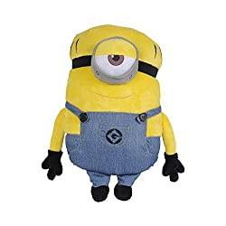 ★ MINION MEL DESIGN: With this Minion Mel cuddle pillow by their side, your little one will always have a friend to sleep and play with. ★ SOFT PLUSH QUALITY: Your little one would love to snuggle up with their favorite character by their side. Made ...